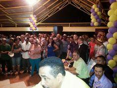 DE LA ZANJA : PLD-Sabana Iglesia se pelea fuertemente su candida...