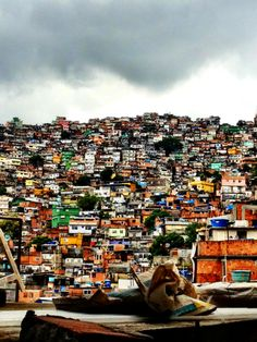 Rochina favela, some say the largest in south America, Rio de Janeiro, Brazil.