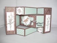 Tri-fold Shutter card designed by Julia Bettencourt