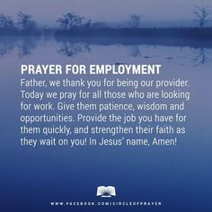 8 Best prayer for a job images in 2017 | Prayer for a job