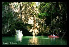 The Caves of Phang Nga Bay, Thailand
