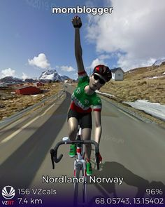 #VZfit ride from Nordland Norway, Explore, Exploring