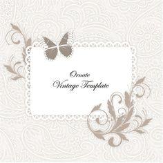 Elegant Floral Lace Message Background - http://www.welovesolo.com/elegant-floral-lace-message-background/