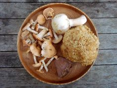Recipe: Mushroom Soup with Carrots and Butternut Squash