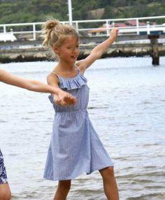 Coccoon Cotton Summer Dress, 2 Styles