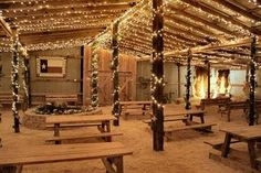 Definitely going to have lots of white lighting. :) PRETTY AFTER DARK!!!!! Nothing like it.