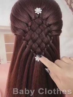 Simple Elegant Hairstyles, Easy Hairstyles For Long Hair, Braids For Long Hair, Bride Hairstyles, Pigtail Hairstyles, Hairstyles Videos, Updo Hairstyle, Celebrity Hairstyles, Box Braids