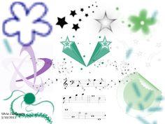 """Musica Feliz"". Pinceles: GIMP Brush #108, Galactic_12, GIMP Brush #111, GIMP Brush #2, GIMP Brush #18, GIMP Brush #39, GIMP Brush #75, GIMP Brush #91,   GIMP Brush #92, sparkle8sm, sparkle1, Confett, Animated Confetti. Fuente: Sans, tamaño: 18 px. Medidas: Horizontal, 1024*768 pixiles"