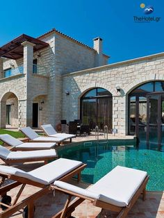 Relaxing under the sun in beautiful Crete #crete #greece #chania #summer #vacations #holiday #travel #sea #sun #sand #nature #landscape #island #TheHotelgr #olive #courtyard #nature #view  #holidays #travelling #instatravel #pool #pinterest