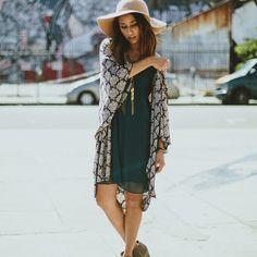 Metro Lady Cardigan Kimono, Nectar Clothing