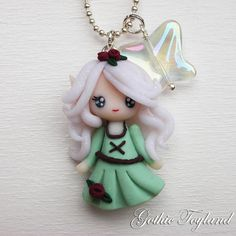 Kawaii Cuties Sweet  Elf Fairy Pendant Necklace by GothicToyland, €12.00