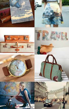 around the world by Rinat Lieber on Etsy Love this treasury, so full of wanderlust and beauty! App Design Inspiration, Travel Inspiration, Best App Design, Travel Clothes Women, Travel Wallpaper, I Want To Travel, Travel Themes, Travel Alone, Travel Packing