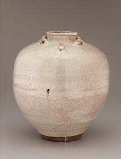 Japanese Art | Shigaraki ware tea-leaf storage jar | F1898.77