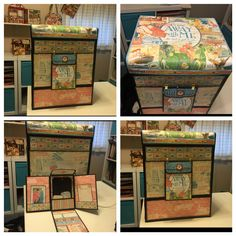 Keepsakes & Tokens Trunk created by crafter Eleanor Leimer.