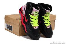 Nike Air Force 180 Mid shoes men-Black Red Volt Cheap