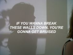 Castle // Halsey//INTJ The worst part is knowing and trying to warn them...why won't they ever listen?