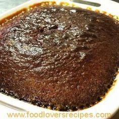 CHOCOLATE MALVA PUDDING Malva Pudding, Pudding Cake, Chocolate Malva, Chocolate Food, Milktart Recipe, Kos, Microwave Cake, Microwave Desserts, Clafoutis Recipes