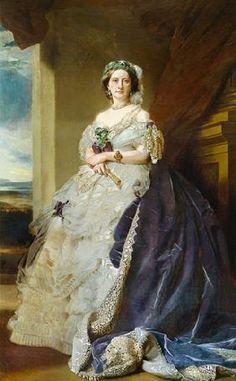 Julia Louise Bosville, señora Middleton. Franz Xavier Winterhalter