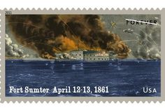 Fort Sumter (April 12-13, 1861) Abraham Lincoln said he would hold all Federal property, and he referred chiefly to Fort Sumter. Major Robert Anderson was in command, with 68 soldiers. Jefferson Davis gave the word to open fire and bring about its submission; Gen. P.G.T. Beauregard obeyed immediately. After a 34-hour bombardment, Major Anderson hauled down the American flag. The Civil War had begun.