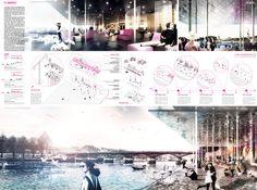 [AC-CA] International Architectural Competition - Concours d'Architecture | [PARIS] River Champagne Bar_2nd Prize