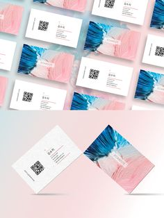 Brand Identity Design, Logo Design, Graphic Design, Business Card Design, Business Cards, Name Card Design, Color Effect, Typography Logo, Name Cards