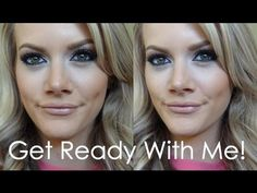 GetReadyWithMe!+OOTD | Arabic Style/Cosmetic Interview Makeup - YouTube