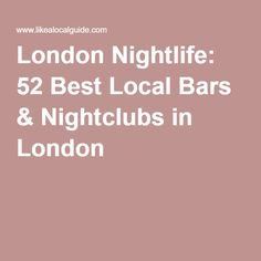 Nightlife travel: Warsaw Nightlife: 27 Best Local Bars Nightclubs i… - Frauen Haar Modelle Best Bars London, Best Clubs In London, Nightlife Travel, Nightlife In London, Poland Culture, Seattle Pictures, London Nightclubs, Barcelona Guide, Viajes