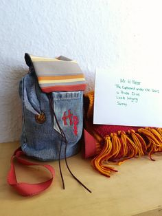 Your place to buy and sell all things handmade Harry Potter Bag, Recycled Denim, Denim Bag, Handmade Bags, Bears, Recycling, Backpacks, Etsy Shop, Trending Outfits