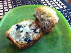 How to Bake Banana Blueberry Muffins (Egg and Dairy Free)