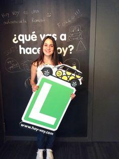 AIDA ROBLES!!! #hoyvoy #autoescuela #granollers