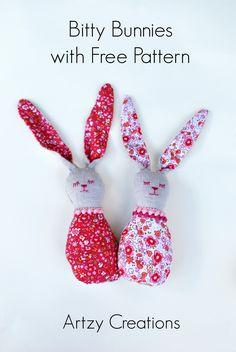 Cute bunnies to sew!