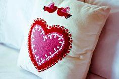 Pillow, Heart