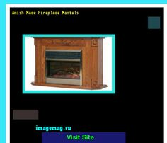 Amish Made Fireplace Mantels 071302 - The Best Image Search