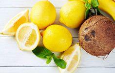 Egg White, Lemon and Coconut Oil Face
