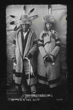 Cree men - circa 1888