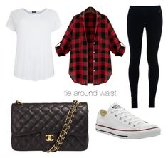 """""""Untitled #15"""" by embozant on Polyvore featuring NIKE, Converse and Chanel"""