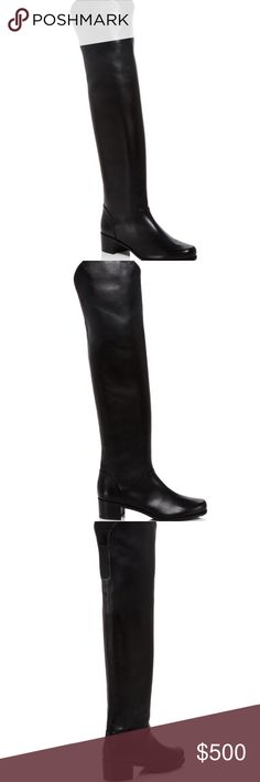 NEW Stuart Weitzman Leather Over the Knee Boots These boots are brand new, never been worn all leather over the knee boots. They fit like a glove and look amazing with jeans, leggings and skirts for a super chic look. Stuart Weitzman Shoes Over the Knee Boots