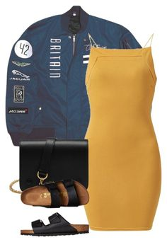 """""""://"""" by zayani ❤ liked on Polyvore featuring AX Paris, Mulberry and Birkenstock"""