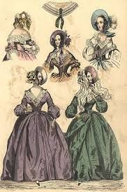 Image result for victorian bonnets Costume Institute, Fashion Plates, Fashion Illustrations, Fashion Prints