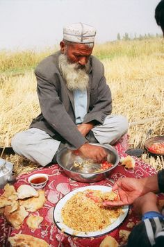 """""""Tajikistan runs on bread and tea. Wherever you are, from a customs post to a shepherd's hut, there will always be a kettle on the boil and a few china bowls filled with light, steaming tea."""" Tajikistan: The Bradt Guide www.bradtguides.com"""