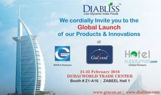 Global Launch of our Products & Innovations at DUBAI WORLD TRADE CENTER.