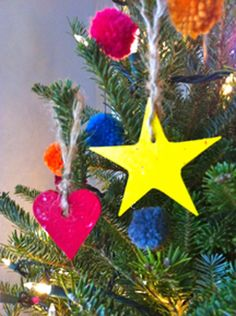 DIY Recycled Crayon Ornaments