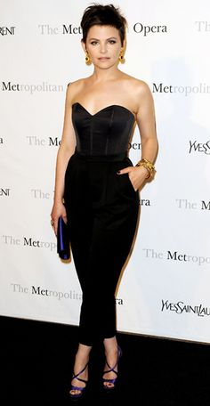 Ginnifer Goodwin in Yves Saint Laurent. Totally can see myself wearing this.