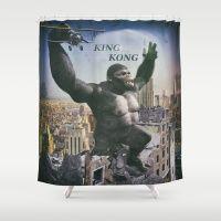 King Kong 3 Shower Curtain
