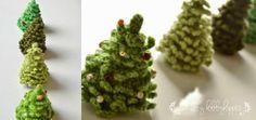 The Lazy Hobbyhopper: Crochet Christmas Tree - free pattern