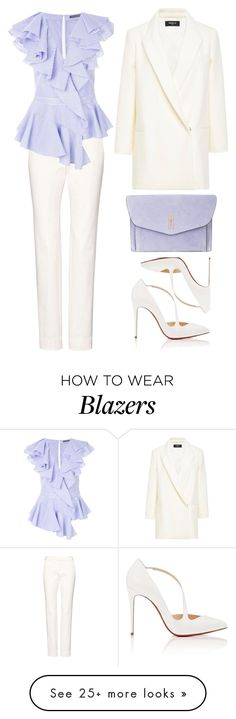 """Untitled #711"" by rebecky89 on Polyvore featuring Alexander McQueen, Christian Louboutin, Paule Ka and Hayward"