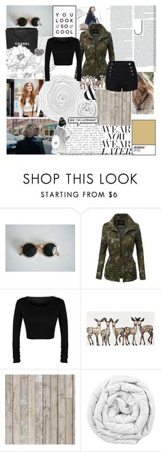 """ryhcti"" by horan-69 on Polyvore featuring мода, Nome, LE3NO, Chanel, PAM, Boodles, Piet Hein Eek, Brinkhaus и Lacava"