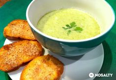 Cream Of Broccoli Soup, Cream Soup, Cheeseburger Chowder, Cantaloupe, Fruit, Ethnic Recipes, Food, Essen, Meals