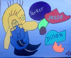 Painted for Parker, Jesse & Dillon