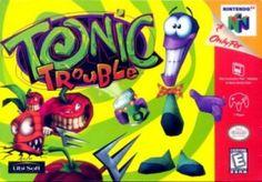 tonic trouble n64 | File:N64-tonictroubleu.jpg - Wikipedia, the free encyclopedia